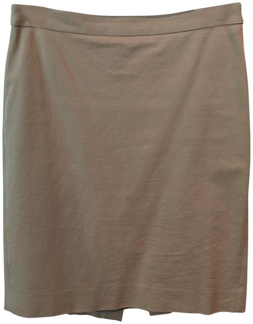 J.Crew Beige No. 2 Pencil In Stretch Twill Skirt Size 4 (S, 27) J.Crew Beige No. 2 Pencil In Stretch Twill Skirt Size 4 (S, 27) Image 1