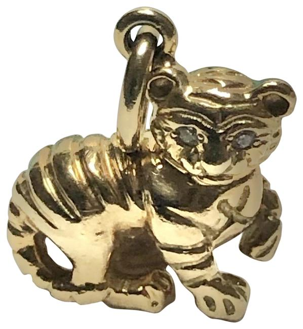 Tiffany & Co. 18k Yellow Gold T&c Paloma Picasso Chinese Zodiac Tiger 2000-10 Charm Tiffany & Co. 18k Yellow Gold T&c Paloma Picasso Chinese Zodiac Tiger 2000-10 Charm Image 1