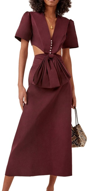 Item - Burgundy XS Lola Loves Red Long Night Out Dress Size 2 (XS)