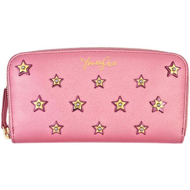 Item - Metallic / Pink Candy Round Zipper Philippa Calf Leather Fross 194 Filipa Wallet