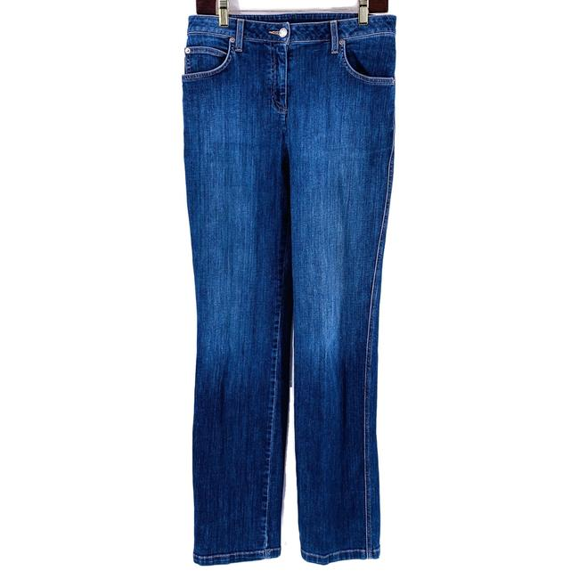 Item - Blue Medium Wash High Waist Straight Leg Jeans Size 30 (6, M)
