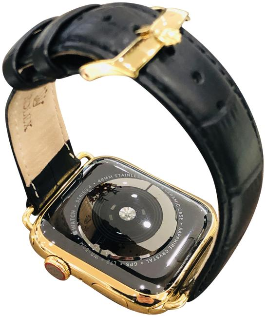 Item - 24k Gold Custom Plated 44mm Series 5 with Rolex Band Watch