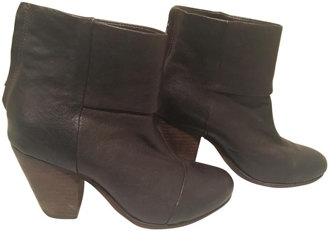Item - Dark Brown Classic Newbury - Leather Ankle Boots/Booties Size EU 37 (Approx. US 7) Regular (M, B)
