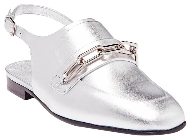 Item - Silver New Chewltown Leather Loafer Mules/Slides Size EU 36.5 (Approx. US 6.5) Regular (M, B)