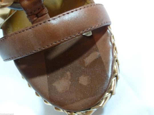 Boutique 9 Luggage Brown Wedges