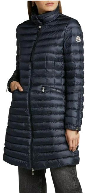 Item - Navy Blue Women Sable Channel-quilt Puffer Coat Size OS (one size)