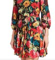 Alice + Olivia Multi with Tag W Mina Puff-sleeve W/ Belt Short Night Out Dress Size 6 (S) Alice + Olivia Multi with Tag W Mina Puff-sleeve W/ Belt Short Night Out Dress Size 6 (S) Image 6