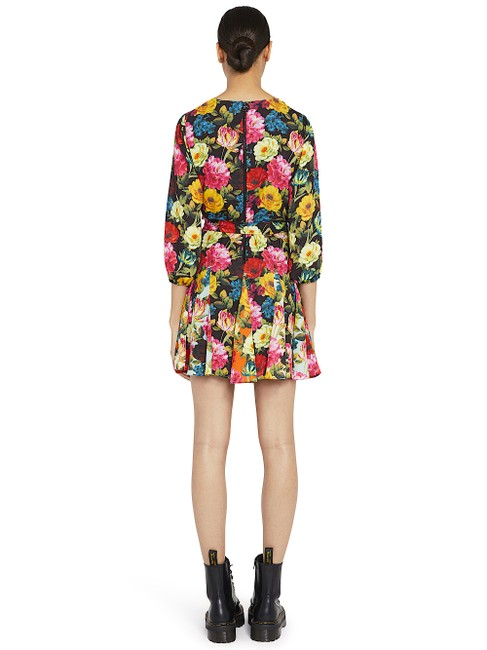 Alice + Olivia Multi with Tag W Mina Puff-sleeve W/ Belt Short Night Out Dress Size 6 (S) Alice + Olivia Multi with Tag W Mina Puff-sleeve W/ Belt Short Night Out Dress Size 6 (S) Image 8
