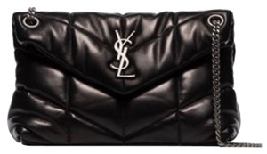 Item - Monogram Loulou Puffer Small Black Leather Shoulder Bag