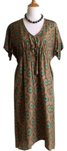 Matta short dress Olive/Multi on Tradesy