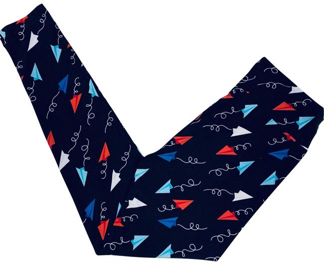 Item - Black New Paper Airplane (Os) Leggings Size OS (one size)