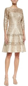 Kay Unger Designer Shimmer Dress