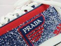 Prada Multicolor New 1e371l Red Blue Fabric Trainers Knit Logo Lace Up It Sneakers Size EU 39.5 (Approx. US 9.5) Regular (M, B) Prada Multicolor New 1e371l Red Blue Fabric Trainers Knit Logo Lace Up It Sneakers Size EU 39.5 (Approx. US 9.5) Regular (M, B) Image 9