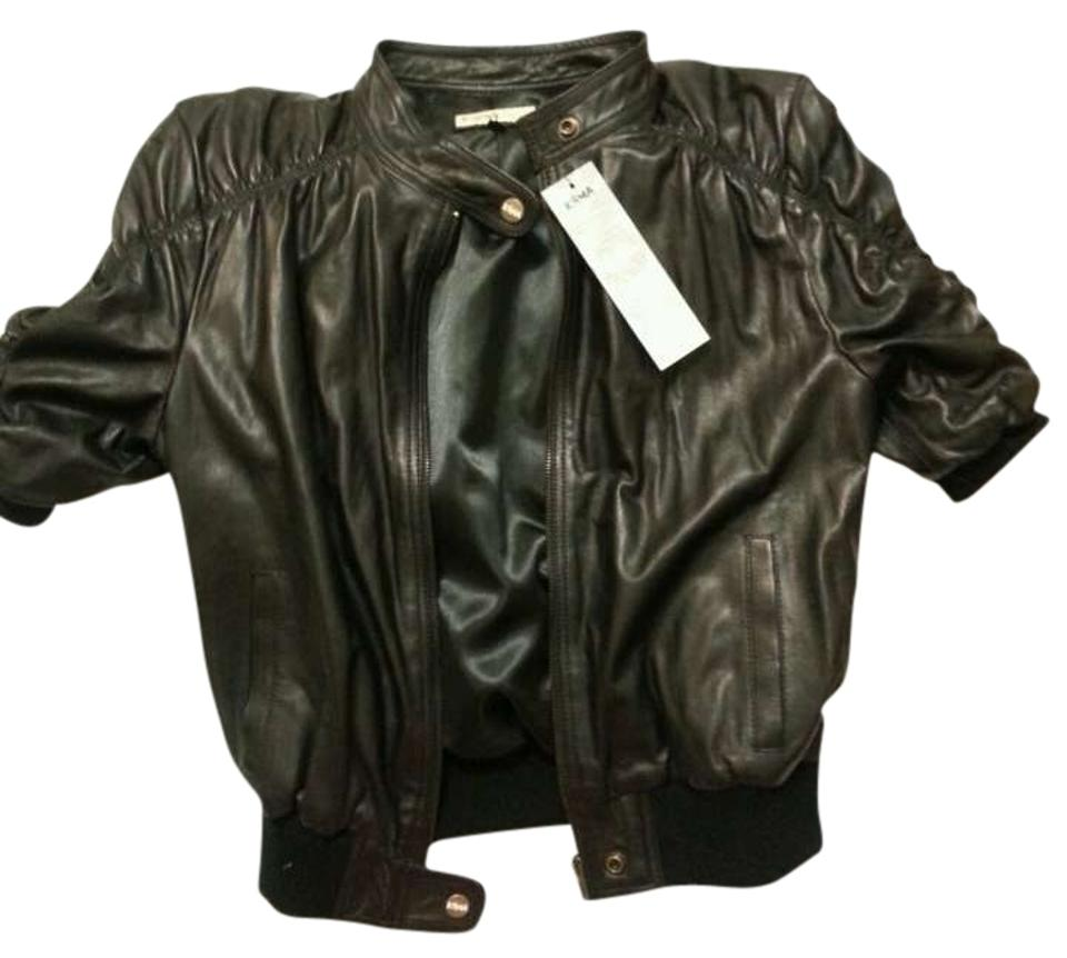 Krma jade leather jacket