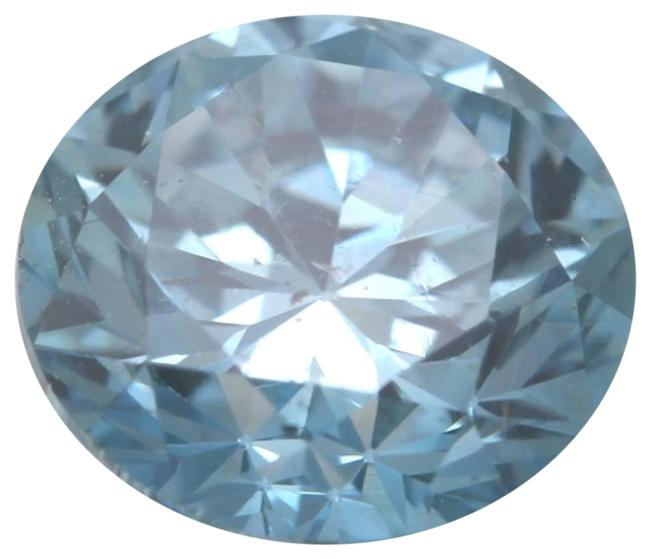 Item - Blue Round Loose Diamond 1 Ct Si2 Clarity Igl C6003269