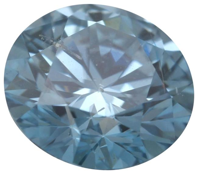 Item - Blue Round Loose Diamond 1.09 Ct Si2 Clarity Igl C6003270