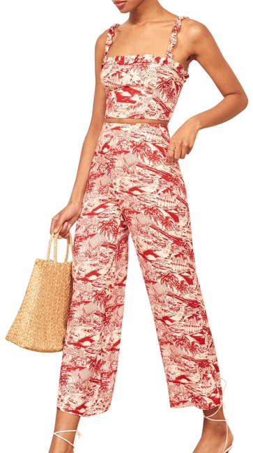 Item - Red Coco 2 Piece Set Top and Pants Romper/Jumpsuit