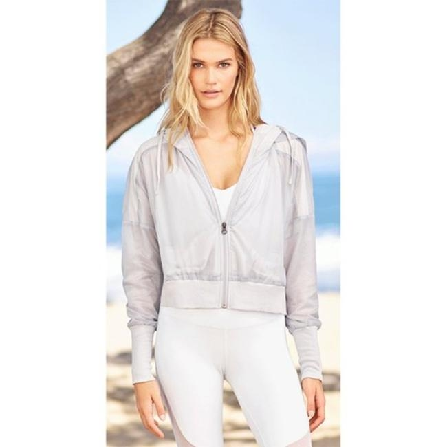 Item - Gray Silver Hood Activewear Outerwear Size 0 (XS)