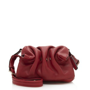 Item - Bloomy Mini Shf-12181 Red Calfskin Shoulder Bag