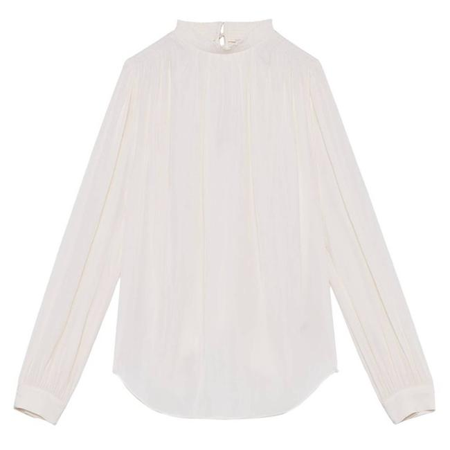 Item - White (Wilfred) Petrichor Long Sleeve Blouse Size 12 (L)