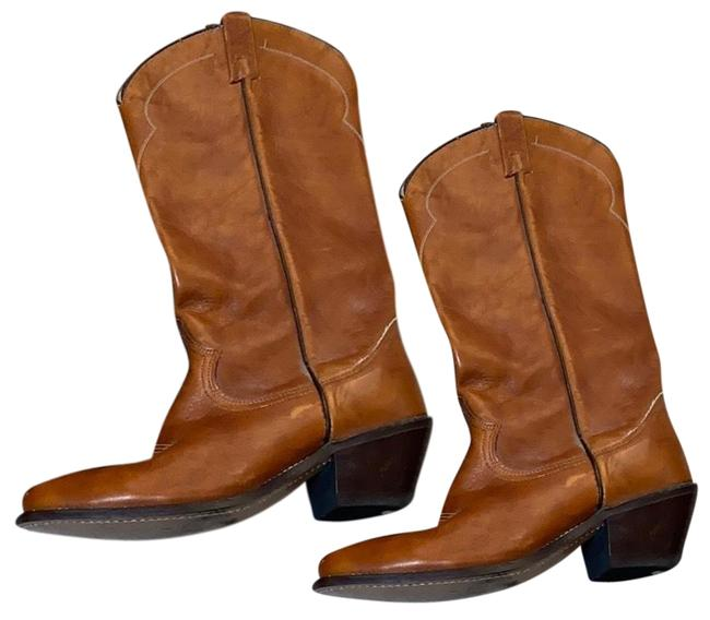 Item - Leather Cowboy Boots/Booties Size US 9 Regular (M, B)