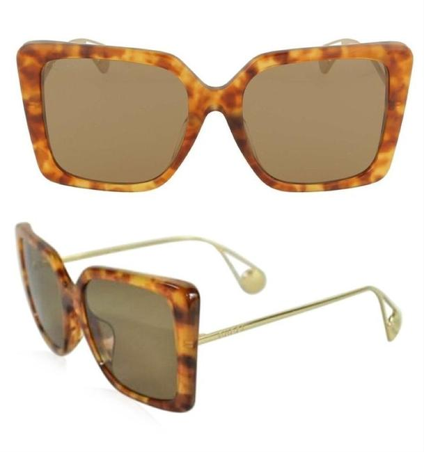 Item - Yellow / Gold Gg0803s - 004 Cat Eye Sunglasses