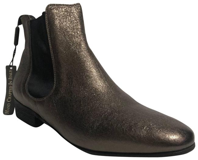 Item - Pewter Chelsea Metallic Ankle Boots/Booties Size EU 39 (Approx. US 9) Regular (M, B)
