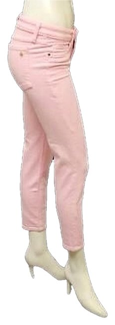 Item - Pink Light Wash Broome Street Capri/Cropped Jeans Size 25 (2, XS)