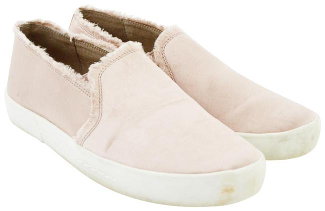 Item - Pink Satin Slip-on Sneaker #169-56 Flats Size EU 38 (Approx. US 8) Regular (M, B)