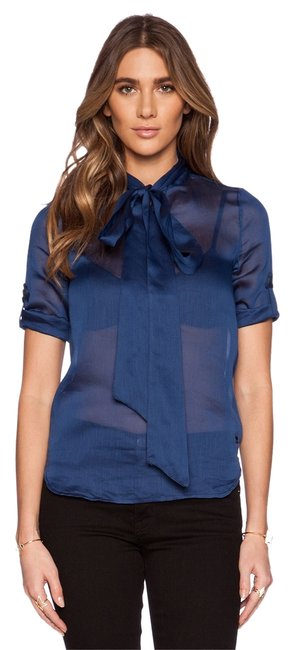 Preload https://item4.tradesy.com/images/g-star-raw-sapphire-blue-blouse-size-2-xs-2830933-0-0.jpg?width=400&height=650