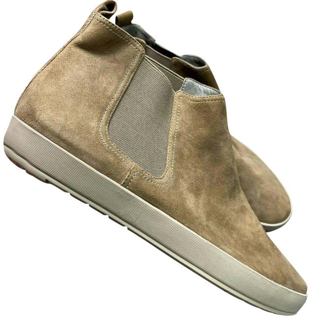 Eileen Fisher Brown Suede Ramble High Top Sneakers Size US 8 Regular (M, B) Eileen Fisher Brown Suede Ramble High Top Sneakers Size US 8 Regular (M, B) Image 1