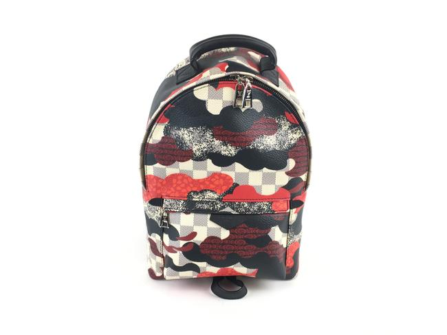 Item - Palm Springs Patchwork Multicolor Canvas Backpack