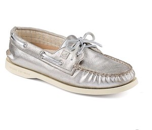 Sperry Metallic Flats