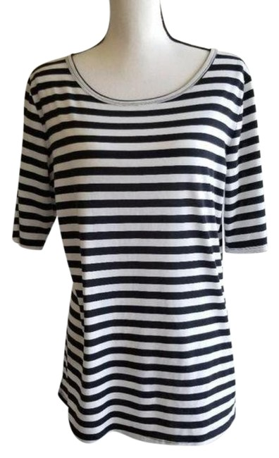 Item - Black White Gigi Tee Shirt Size 16 (XL, Plus 0x)