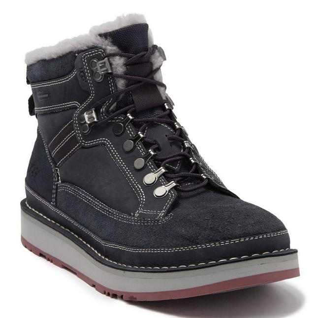 Item - Navy Mens Avalanche Suede Uggpure™ Wool Lining Hiker Boots/Booties Size US 10 Regular (M, B)