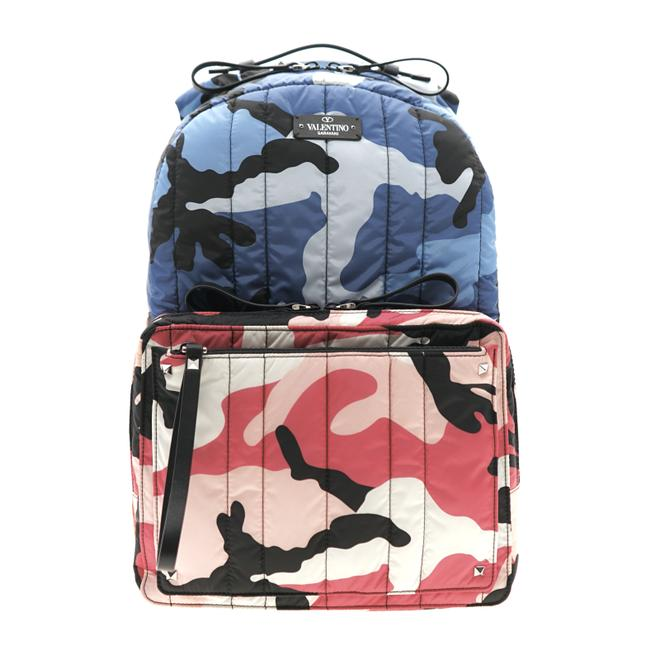 Item - Camushuffle Quilted Multicolor Nylon Backpack