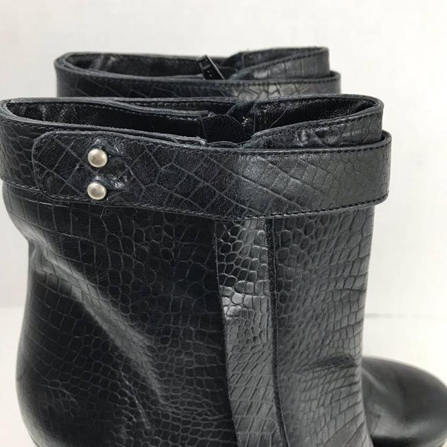 Rachel Comey Black Leather Embossed Heeled Ankle Made In Peru Boots/Booties Size US 9 Regular (M, B) Rachel Comey Black Leather Embossed Heeled Ankle Made In Peru Boots/Booties Size US 9 Regular (M, B) Image 6
