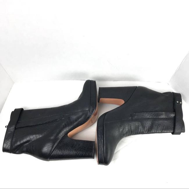 Rachel Comey Black Leather Embossed Heeled Ankle Made In Peru Boots/Booties Size US 9 Regular (M, B) Rachel Comey Black Leather Embossed Heeled Ankle Made In Peru Boots/Booties Size US 9 Regular (M, B) Image 8