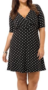 Poppy & Bloom short dress Black & White on Tradesy