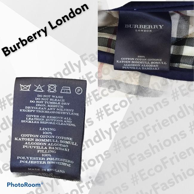 Burberry London Blue Women's Quilted Field Jacket Size 6 (S) Burberry London Blue Women's Quilted Field Jacket Size 6 (S) Image 4