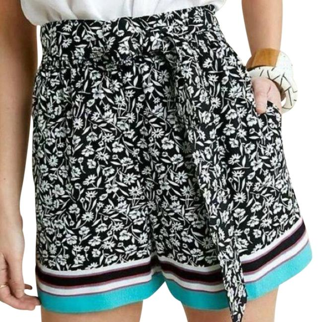 Item - Black Maeve Scarf Printed Shorts Size 4 (S)