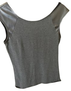 Express Color-blocking T Shirt Gray