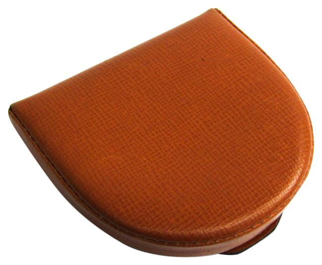 Item - Camel Unisex Leather Coin Purse/Coin Case Wallet