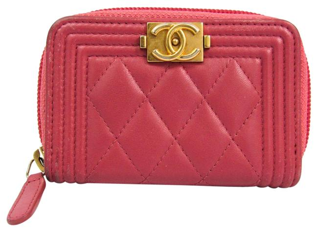 Item - Pink Boy A80602 Women's Leather Coin Purse/Coin Wallet