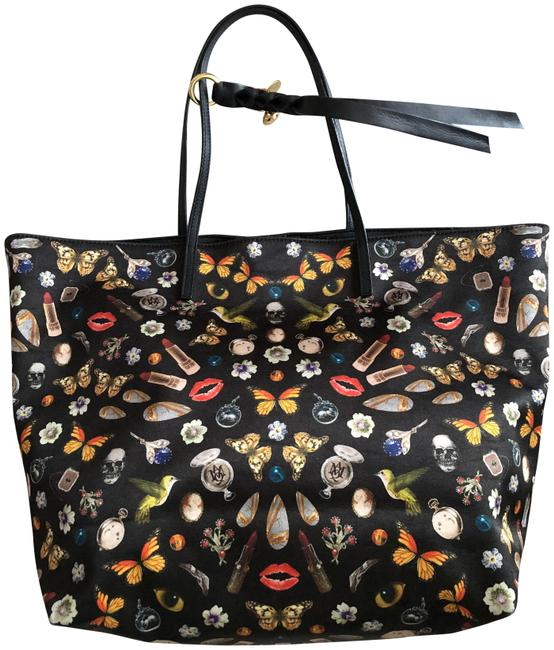 Item - Obsession Black Leather Tote