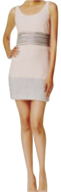 Item - Pink and White Belly By Maddy Short Casual Dress Size 4 (S)