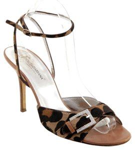 Dolce & Gabbana Brown, Black Sandals