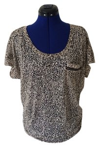 Forever 21 Top Black And Brown