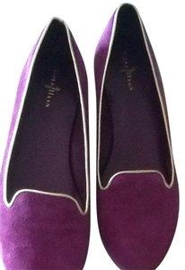 Cole Haan Purple Suede Flats