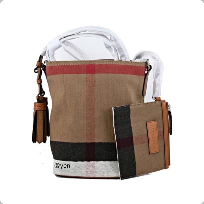 Item - Shoulder Mini Ashby with Pouch Saddle Crossbody/ Brown Canvas and Leather Cross Body Bag